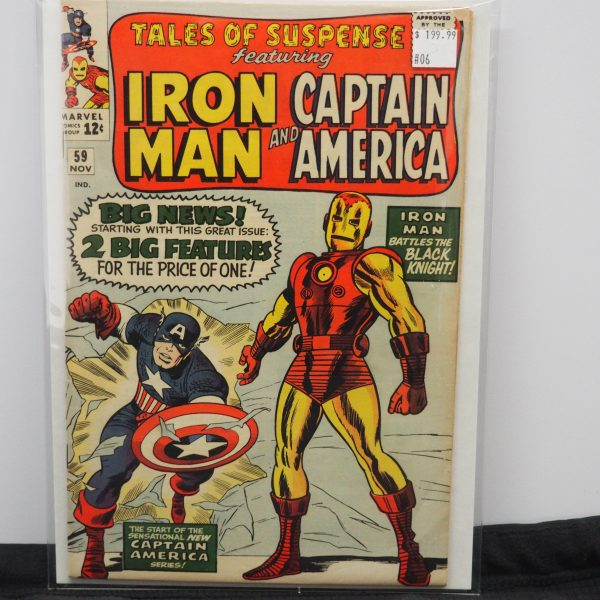 Tales of Suspense Featuring Iron Man and Captain America #59