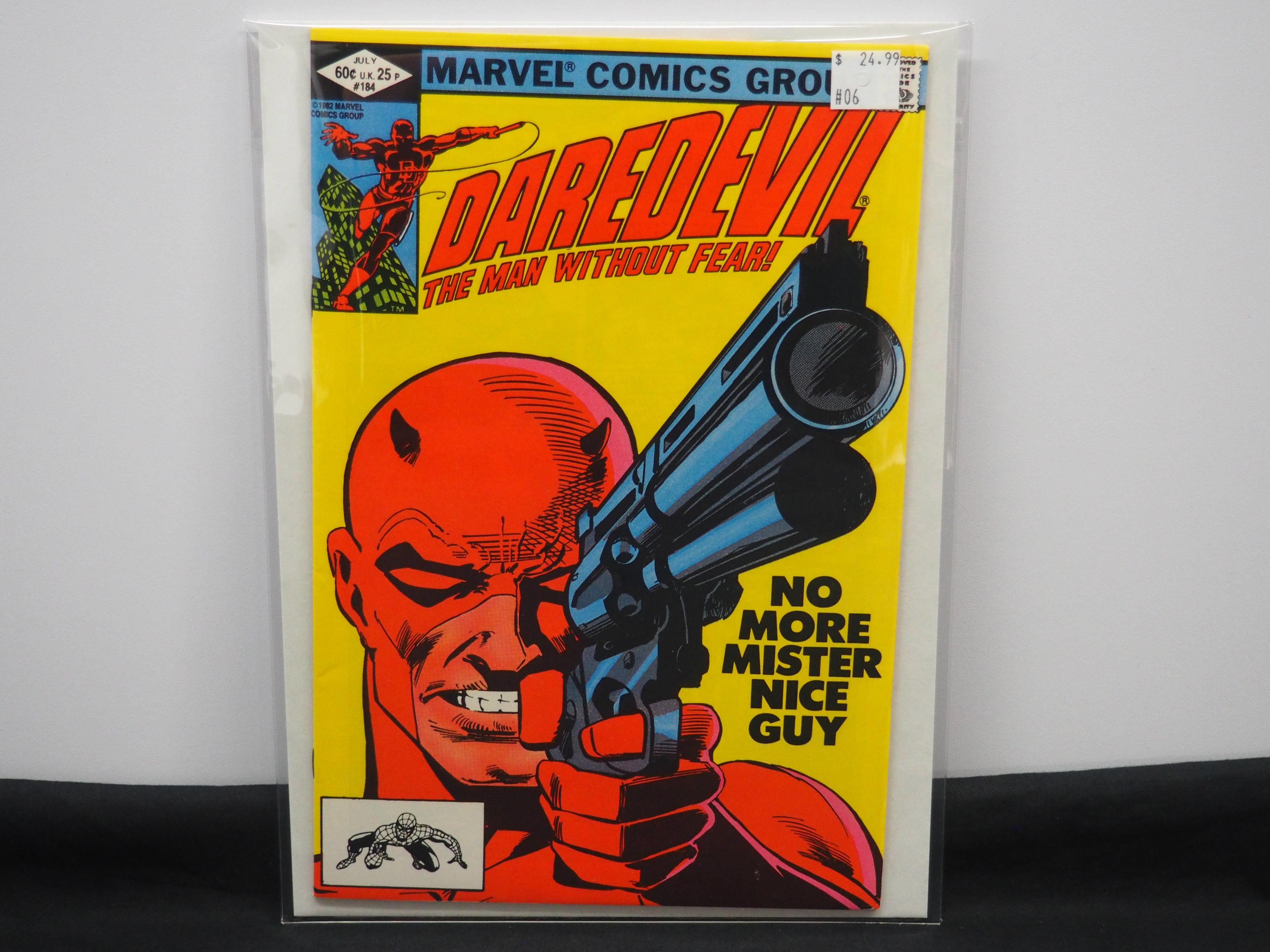Daredevil 184 Batcave Comics Toys
